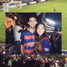 Barcelona Game in LA