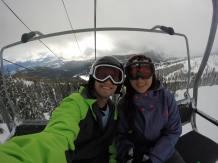 Snowbaording in Idaho